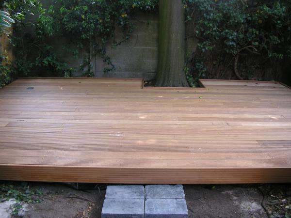 High end houten terras flaxfield edward vlasveld